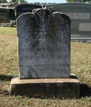 SCARBROUGH, J. H. - Saline County, Arkansas | J. H. SCARBROUGH - Arkansas Gravestone Photos
