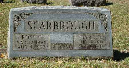SCARBROUGH, ROSE CLARA - Saline County, Arkansas | ROSE CLARA SCARBROUGH - Arkansas Gravestone Photos