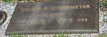 SCHIERMEYER (VETERAN), WALTER - Saline County, Arkansas | WALTER SCHIERMEYER (VETERAN) - Arkansas Gravestone Photos