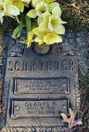 SCHROEDER, GLADYS P. - Saline County, Arkansas | GLADYS P. SCHROEDER - Arkansas Gravestone Photos