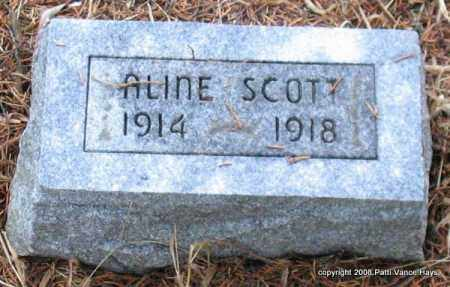SCOTT, ALINE - Saline County, Arkansas | ALINE SCOTT - Arkansas Gravestone Photos