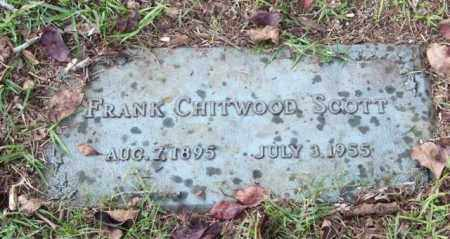 SCOTT, FRANK CHITWOOD - Saline County, Arkansas | FRANK CHITWOOD SCOTT - Arkansas Gravestone Photos
