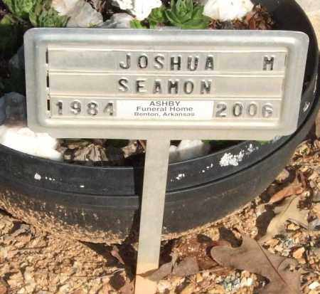 SEAMON, JOSHUA MICHAEL - Saline County, Arkansas | JOSHUA MICHAEL SEAMON - Arkansas Gravestone Photos