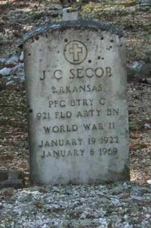 SECOR (VETERAN WWII), J C - Saline County, Arkansas | J C SECOR (VETERAN WWII) - Arkansas Gravestone Photos