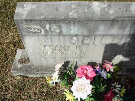 SEILER, FRANK R - Saline County, Arkansas | FRANK R SEILER - Arkansas Gravestone Photos