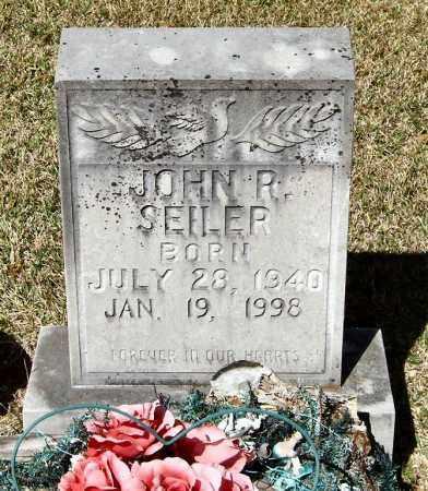 SEILER, JOHN R - Saline County, Arkansas | JOHN R SEILER - Arkansas Gravestone Photos