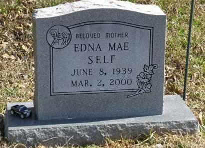 SELF, EDNA MAE - Saline County, Arkansas | EDNA MAE SELF - Arkansas Gravestone Photos