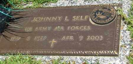 SELF (VETERAN), JOHNNY L. - Saline County, Arkansas | JOHNNY L. SELF (VETERAN) - Arkansas Gravestone Photos