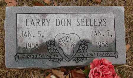 SELLERS, LARRY DON - Saline County, Arkansas | LARRY DON SELLERS - Arkansas Gravestone Photos