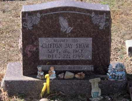 SHAW, CLIFTON JAY - Saline County, Arkansas | CLIFTON JAY SHAW - Arkansas Gravestone Photos