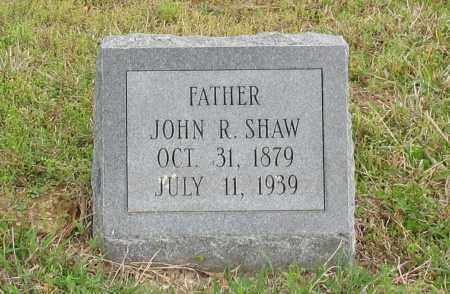 SHAW, JOHN R. - Saline County, Arkansas | JOHN R. SHAW - Arkansas Gravestone Photos