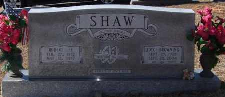 BROWNING SHAW, JOYCE - Saline County, Arkansas | JOYCE BROWNING SHAW - Arkansas Gravestone Photos