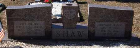 SHAW, RUEY WILLIAM - Saline County, Arkansas | RUEY WILLIAM SHAW - Arkansas Gravestone Photos