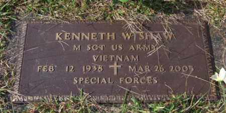 SHAW (VETERAN VIET), KENNETH W - Saline County, Arkansas | KENNETH W SHAW (VETERAN VIET) - Arkansas Gravestone Photos