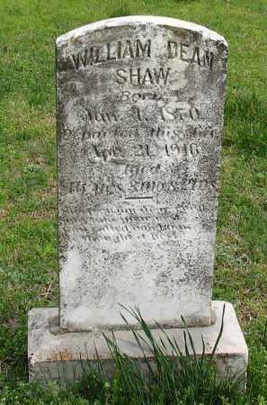 SHAW, WILLIAM DEAN - Saline County, Arkansas | WILLIAM DEAN SHAW - Arkansas Gravestone Photos