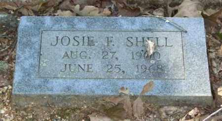 SHELL, JOSIE F. - Saline County, Arkansas | JOSIE F. SHELL - Arkansas Gravestone Photos