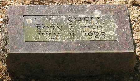 SHELL, L. L. - Saline County, Arkansas | L. L. SHELL - Arkansas Gravestone Photos