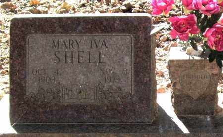 CRAWFORD SHELL, MARY IVA (CLOSEUP) - Saline County, Arkansas | MARY IVA (CLOSEUP) CRAWFORD SHELL - Arkansas Gravestone Photos