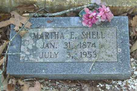 SHELL, MARTHA E. - Saline County, Arkansas | MARTHA E. SHELL - Arkansas Gravestone Photos