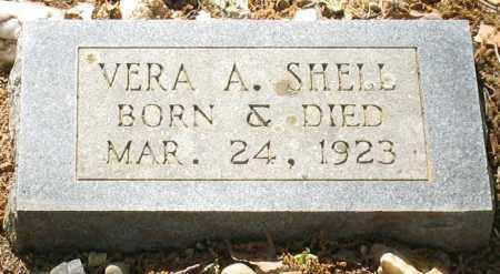 SHELL, VERA A. - Saline County, Arkansas | VERA A. SHELL - Arkansas Gravestone Photos