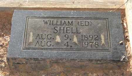 SHELL, WILLIAM EDWARD - Saline County, Arkansas | WILLIAM EDWARD SHELL - Arkansas Gravestone Photos