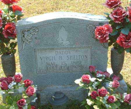 SHELTON, VIRGIL H. - Saline County, Arkansas | VIRGIL H. SHELTON - Arkansas Gravestone Photos