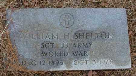 SHELTON (VETERAN WWI), WILLIAM H - Saline County, Arkansas | WILLIAM H SHELTON (VETERAN WWI) - Arkansas Gravestone Photos