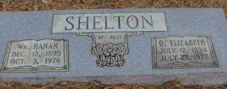 SHELTON, O. ELIZABETH - Saline County, Arkansas | O. ELIZABETH SHELTON - Arkansas Gravestone Photos