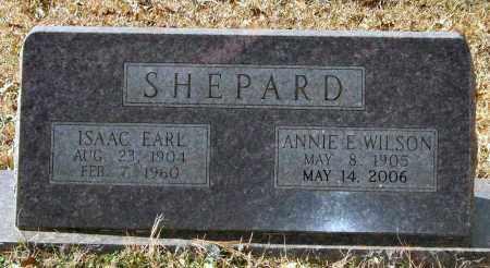 SHEPARD, ISAAC EARL - Saline County, Arkansas | ISAAC EARL SHEPARD - Arkansas Gravestone Photos