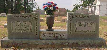 SHERIDAN, ALVIN O. - Saline County, Arkansas | ALVIN O. SHERIDAN - Arkansas Gravestone Photos