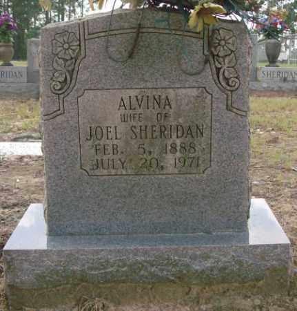 SHERIDAN, ALVINA - Saline County, Arkansas | ALVINA SHERIDAN - Arkansas Gravestone Photos