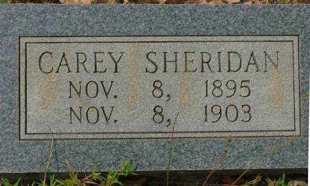 SHERIDAN, CAREY - Saline County, Arkansas | CAREY SHERIDAN - Arkansas Gravestone Photos