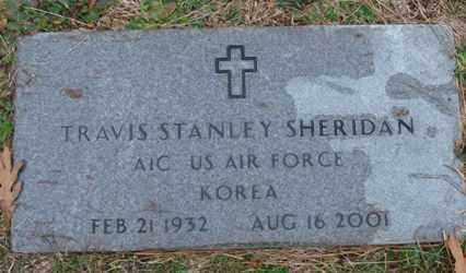 SHERIDAN (VETERAN KOR), TRAVIS STANLEY - Saline County, Arkansas | TRAVIS STANLEY SHERIDAN (VETERAN KOR) - Arkansas Gravestone Photos