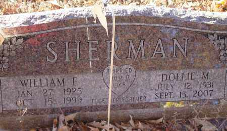 SHERMAN, WILLIAM F - Saline County, Arkansas | WILLIAM F SHERMAN - Arkansas Gravestone Photos