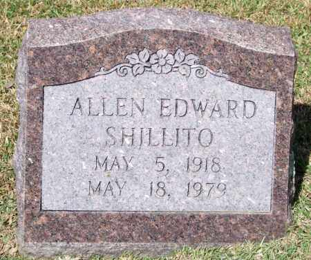 SHILLITO, ALLEN EDWARD - Saline County, Arkansas | ALLEN EDWARD SHILLITO - Arkansas Gravestone Photos
