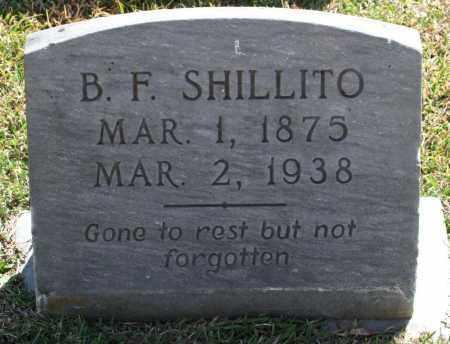 SHILLITO, B. FRANK - Saline County, Arkansas | B. FRANK SHILLITO - Arkansas Gravestone Photos
