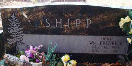 "SHIPP, WILLIAM FREDRICK ""RICKY"" - Saline County, Arkansas 