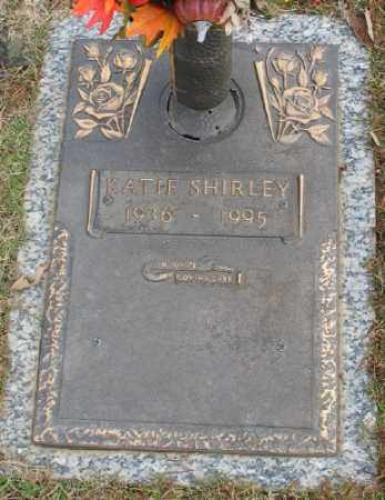 SHIRLEY, KATIE - Saline County, Arkansas | KATIE SHIRLEY - Arkansas Gravestone Photos