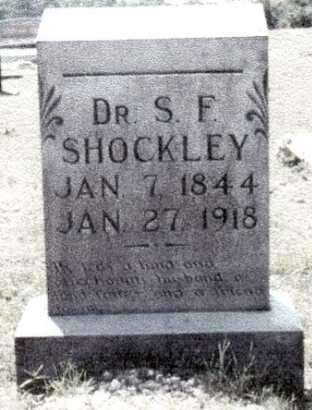 SHOCKLEY, SAMUEL F. - Saline County, Arkansas | SAMUEL F. SHOCKLEY - Arkansas Gravestone Photos
