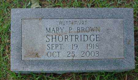 SHORTRIDGE, MARY P - Saline County, Arkansas | MARY P SHORTRIDGE - Arkansas Gravestone Photos