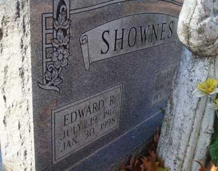 SHOWNES, EDWARD R - Saline County, Arkansas | EDWARD R SHOWNES - Arkansas Gravestone Photos
