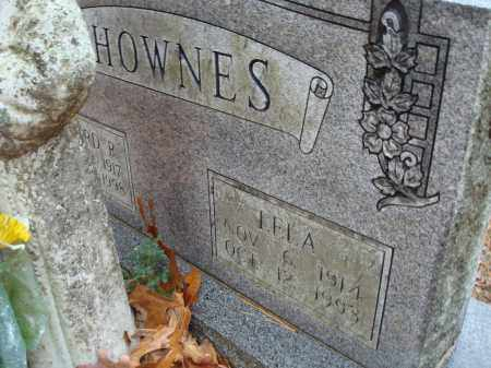 SHOWNES, LELA - Saline County, Arkansas | LELA SHOWNES - Arkansas Gravestone Photos