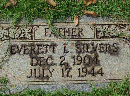 SILVERS, EVERETT - Saline County, Arkansas | EVERETT SILVERS - Arkansas Gravestone Photos