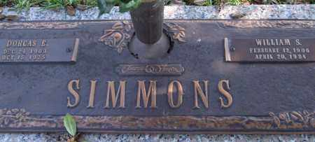 SIMMONS, WILLIAM S. - Saline County, Arkansas | WILLIAM S. SIMMONS - Arkansas Gravestone Photos