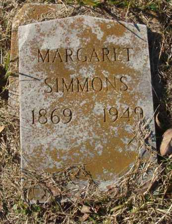 SIMMONS, MARGARET - Saline County, Arkansas | MARGARET SIMMONS - Arkansas Gravestone Photos