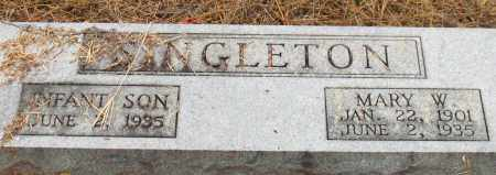 SINGLETON, INFANT SON - Saline County, Arkansas | INFANT SON SINGLETON - Arkansas Gravestone Photos