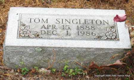 SINGLETON, TOM - Saline County, Arkansas | TOM SINGLETON - Arkansas Gravestone Photos
