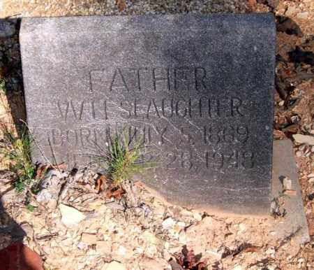 SLAUGHTER, WILL - Saline County, Arkansas | WILL SLAUGHTER - Arkansas Gravestone Photos