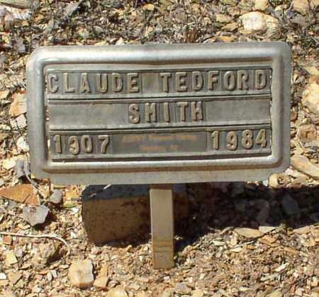 SMITH, CLAUDE TEDFORD - Saline County, Arkansas | CLAUDE TEDFORD SMITH - Arkansas Gravestone Photos
