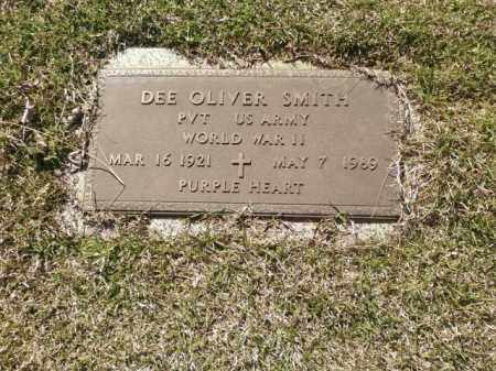 SMITH (VETERAN WWII), DEE OLIVER - Saline County, Arkansas | DEE OLIVER SMITH (VETERAN WWII) - Arkansas Gravestone Photos